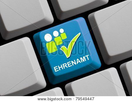 Computer Keyboard volunteer work