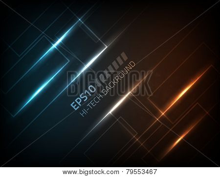 EPS10 vector abstract hi-tech background