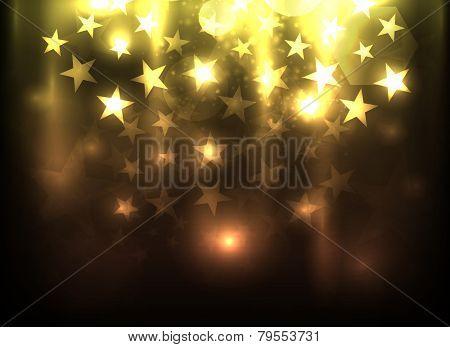 EPS10 vector falling stars