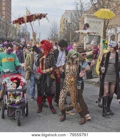 Mardi Gras Revelry
