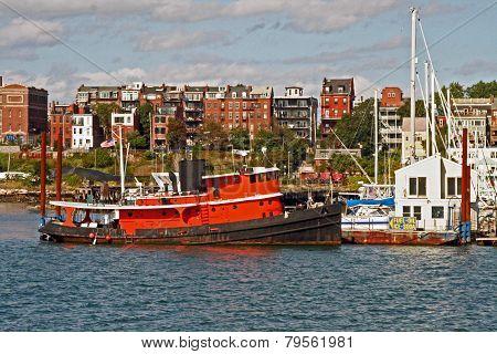 Tug at East Boston