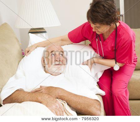 Salud en el hogar - comodidad del paciente