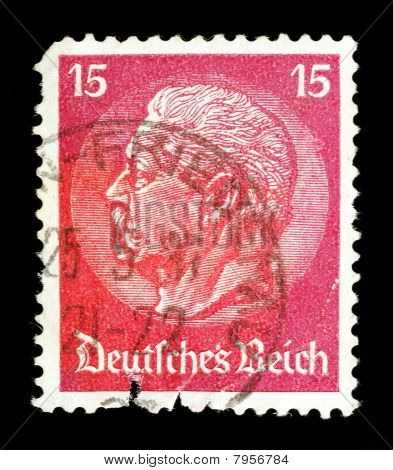 Old Stamp From Germany (1937)