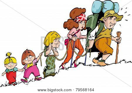 Hiking - family