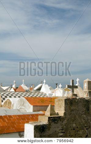 Rooftop Crypts Marine Cemetery Old Town Bonifacio Corsica