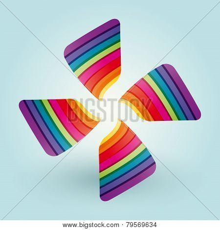 Color Fan Blades