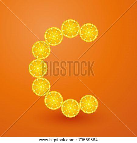 Vitamin C Composed Of Lemon