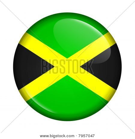 Icon With Flag Of Jamaica