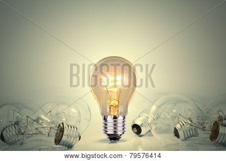 Light bulb lamps