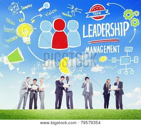 Diversity Business People Leadership Management Discussion Concept
