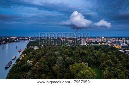 Pollution In Bratislava, Slovakia