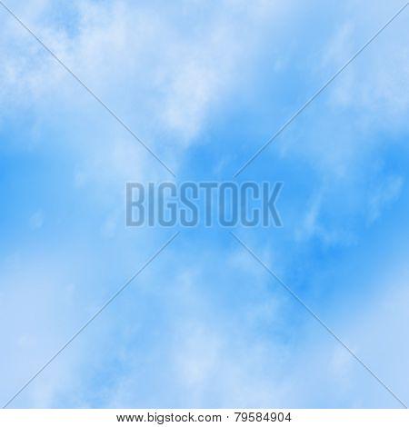 Seamless Blue Sky Background