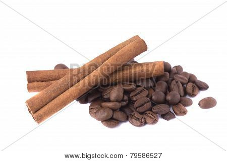 Cinnamon and coffee