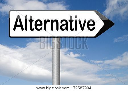 alternative choices, choose different option underground music or movement