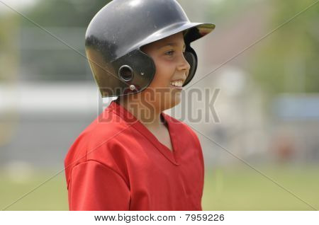 Baseball Player Closeup