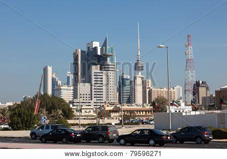 Kuwait City Downtown