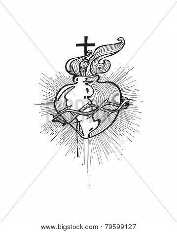 Jesus Sacred Heart b
