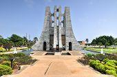 picture of memorial  - Kwame Nkrumah Memorial Park - JPG
