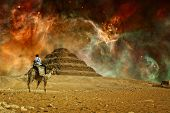 picture of the great pyramids  - Photo - JPG