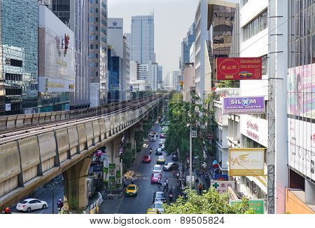 Silom Line Skytrain