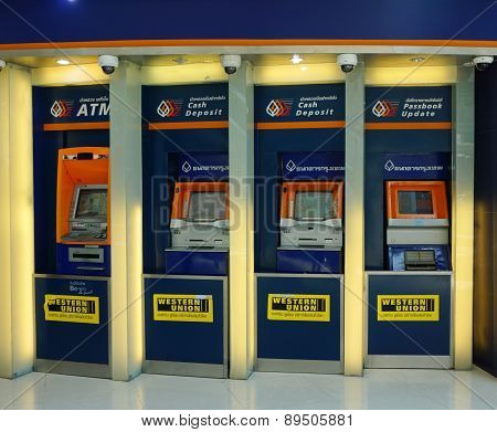 Thailand Commercial Bank Atm Booths
