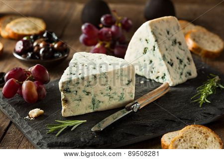 Organic Blue Cheese Wedge