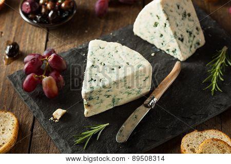 Organic Blue Cheese Wedge