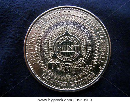 moeda de pinnacle 1998 randy jhonson