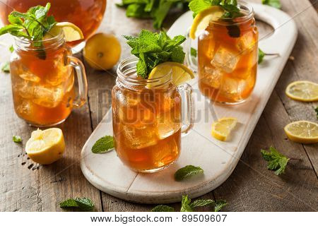 Homemade Iced Tea And Lemonade