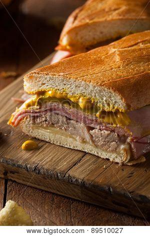 Homemade Traditional Cuban Sandwiches