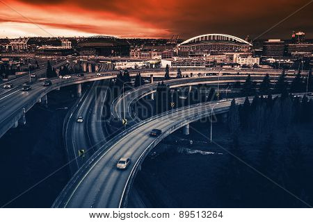 Seattle Highways Intersection