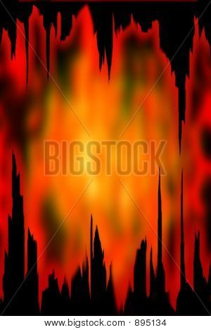 Abstract Background Laver Flow Digital Illustration