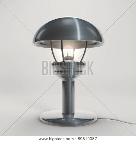 Lamp In Stainless Steel