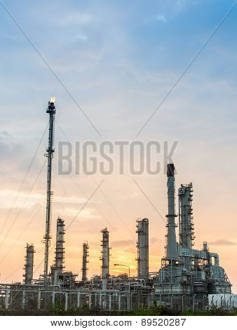 Light Of Petrochemical Industry Power Station