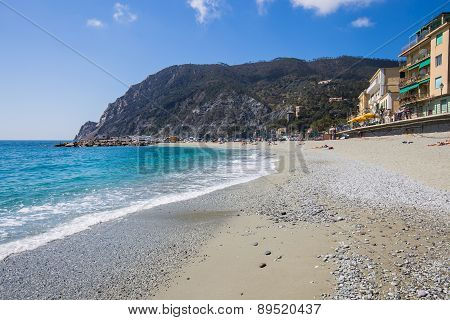 Monterosso Coast In Cinque Terre, Italy