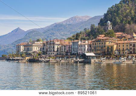 Bellagio Village In Lake Como, Italy
