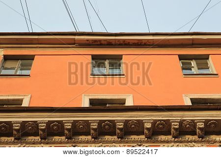 House Orange Color