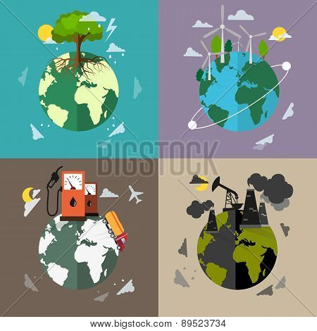 Environmental Protection Backgrounds