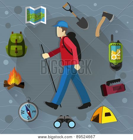 Tourist And Camping Equipment