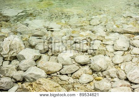 Pebbles In A Lake