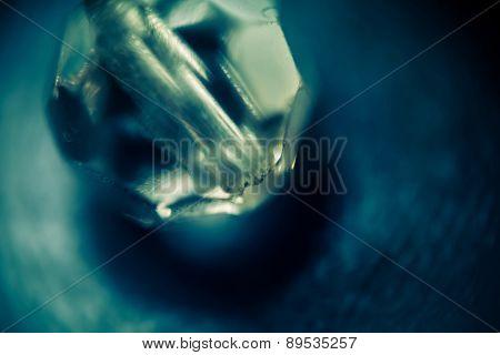 Supermacro Of Glass Bead