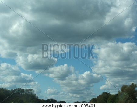 Line Up Of Clouds