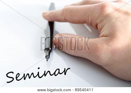 Seminar Concept