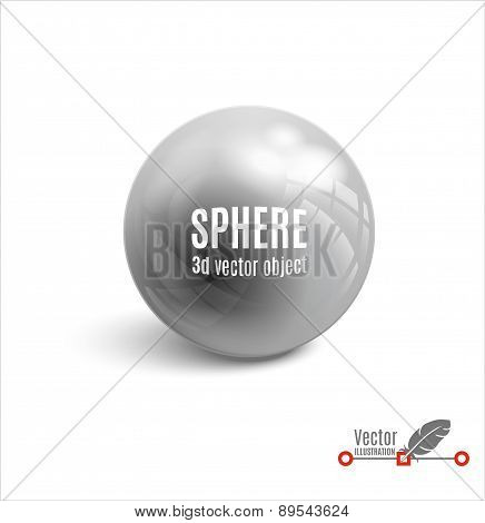 3d sphere vector illustration