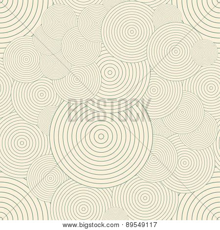 Seamless pattern with circles. Repeating modern stylish geometric backgrounds. Simple abstract monoc