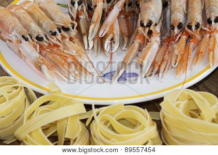 Prawns Fished Fresh
