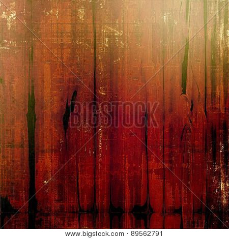 Abstract rough grunge background, colorful texture. With different color patterns: brown; black; green; red (orange)