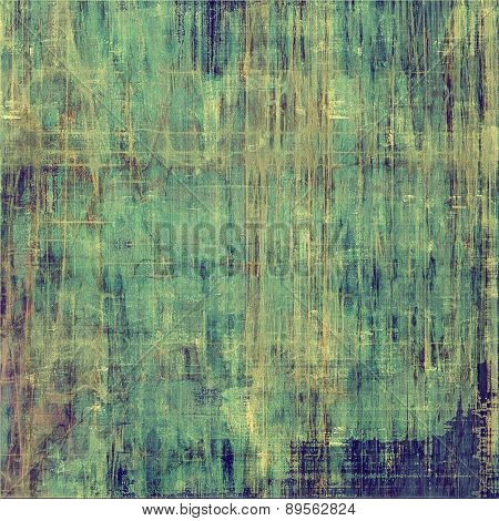 Old background or texture. With different color patterns: brown; gray; green; blue