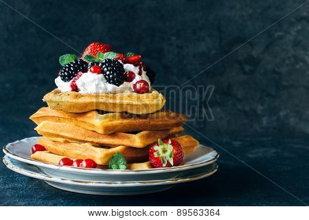 Juicy Waffles