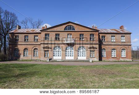 Manor Olenins Priyutino. The manor house. Vsevolozhsk. Leningrad Region
